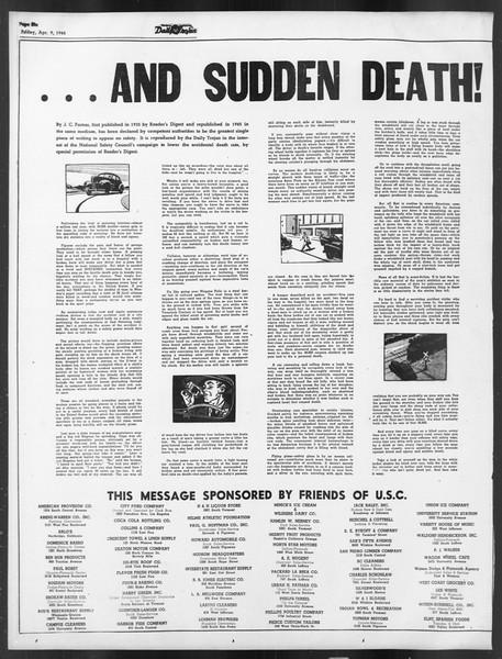Daily Trojan, Vol. 39, No. 115, April 09, 1948
