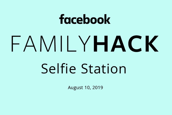 FACEBOOK FAMILY HACK SELFIES
