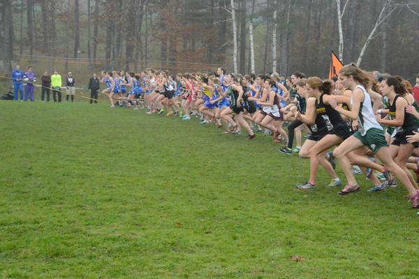 2012 Vermont HS XC Championship 2012-10-27