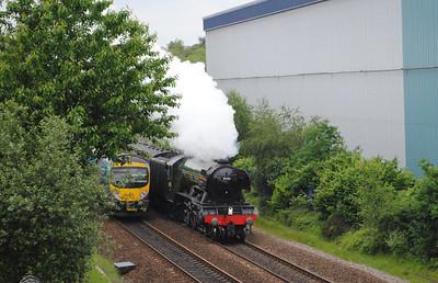 60103 Flying Scotsman Bradley 14th June 2016 5Z72 1200 York N.R.M. to Crewe Heritage Centre