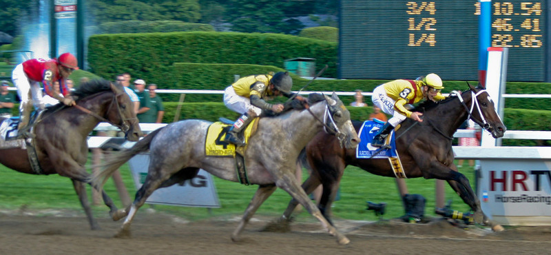 Rachel Alexandra Under the Wire -- Woodward   PrivTmp