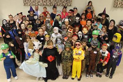 Boy, Cub Scout, Halloween Party, St. John's UCC, Tamaqua (10-21-2014)