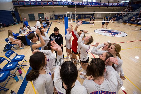 2021-9-3 WHS Girls JV Volleyball vs Windham