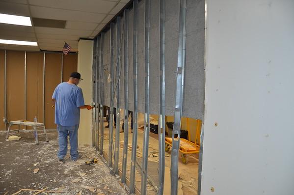 April 27-28 Bldg 1 renovations begin