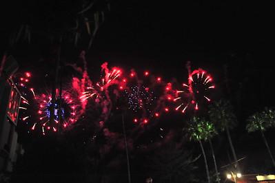 Fireworks at Hollywood Studios