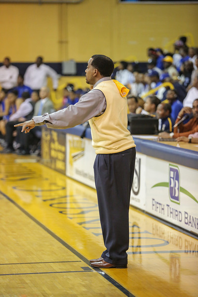JCSU Basketball Feb 9 2014