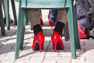 Walk a Mile in Her Shoes - April 7, 2016