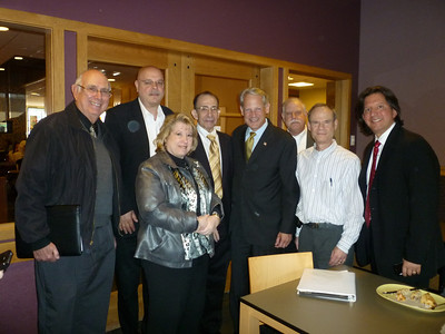Congressman Steve Israel Visits Bay Terrace on 4-12-12