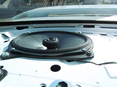 2011 Corolla Type S Rear Deck Speaker Installation - USA