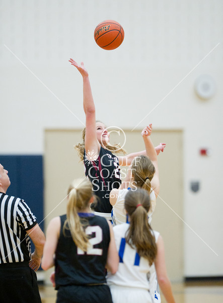 2012-01-13 Basketball Varsity Girls All Saints @ Episcopal