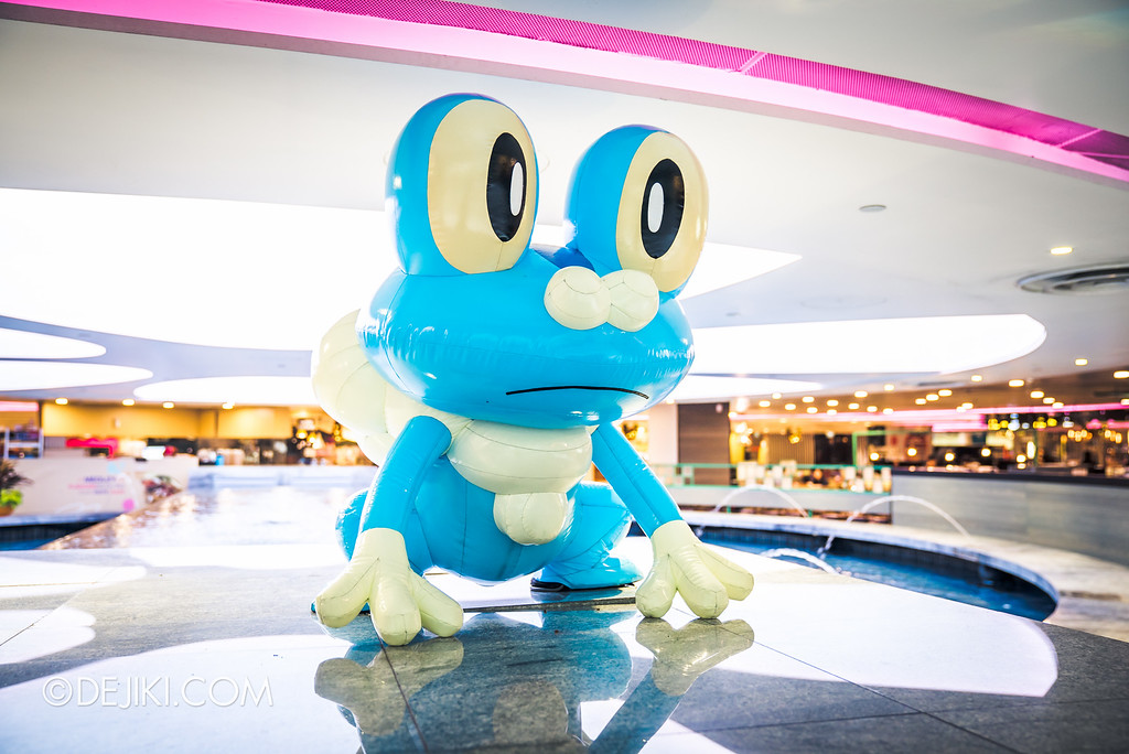 Pokémon at Changi Airport - A Wild Froakie