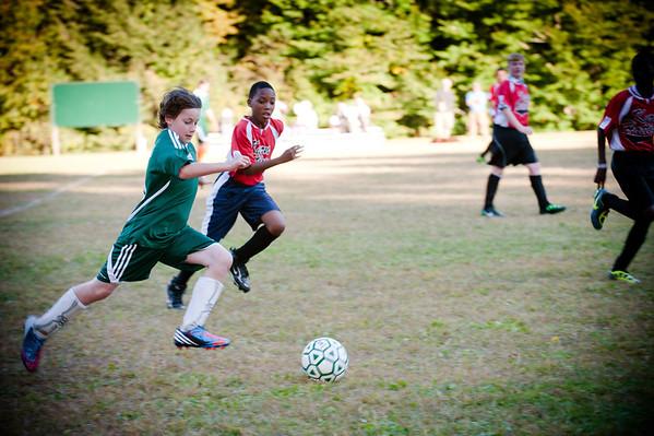 Middle School Soccer 2012
