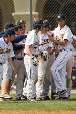 ND Baseball Varsity-Canyon 2012