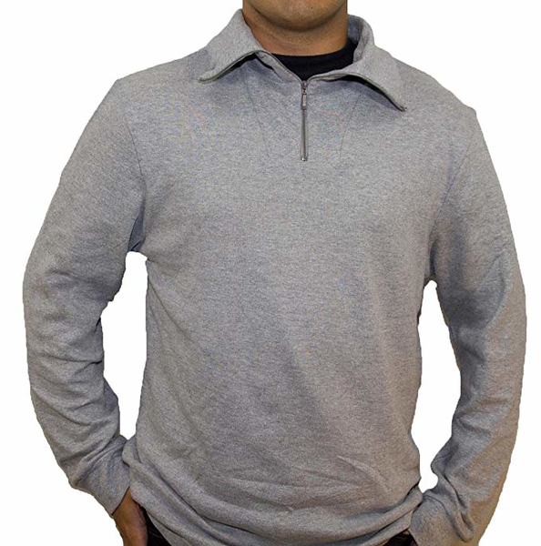 men's grey shirt