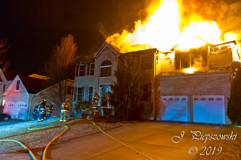3-8-2019 (Camden County) - GLOUCESTER TWP. - 61 Evergreen Ave. - 2nd Alarm Dwelling