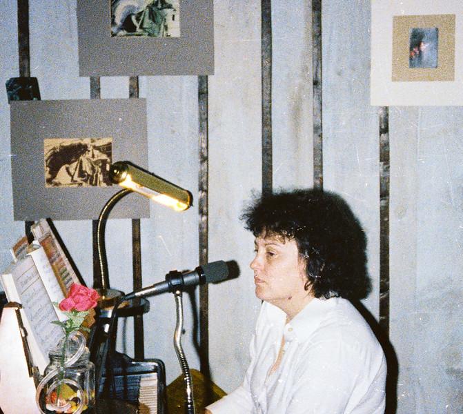 Shirley Lebin, Jam at Lebins, Dec 1 1979.