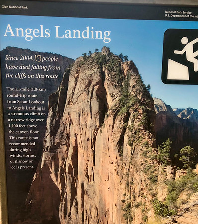 2021 Southwest Adventure - Zion - Angel's Landing