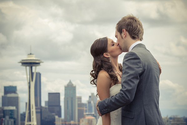 Kayla & Bastien - Seattle Wedding