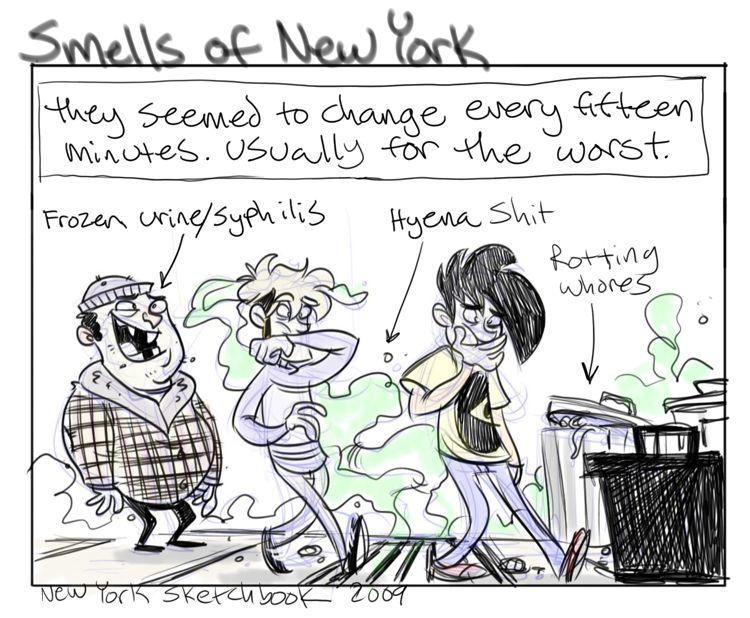 New York Sketchbook: A Nose Journey