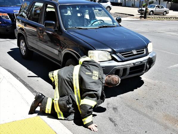Hazleton city 139 3 car mva  6th @ church st 6-16-18