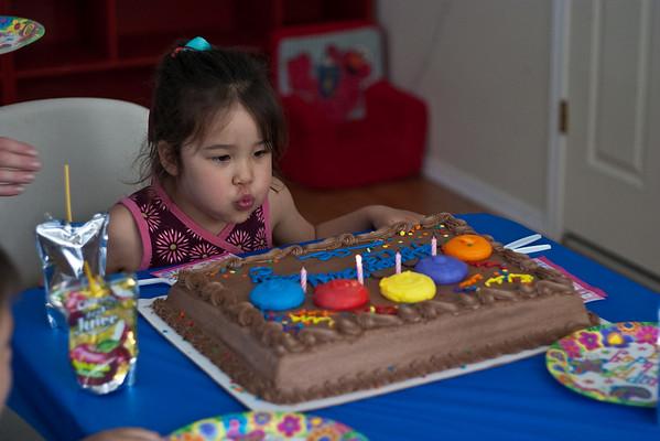 Zoe's 4th Birthday Party