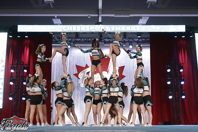 Cheer Sport  White Tip Sharks - Canadian Finals Level 4.2