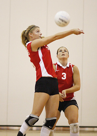 SNHS Volleyball vs Winamac Gallery 1 2009