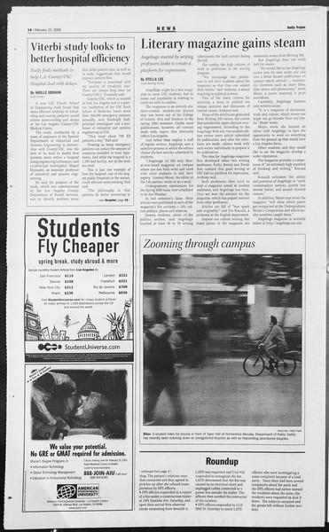 Daily Trojan, Vol. 154, No. 24, February 15, 2005