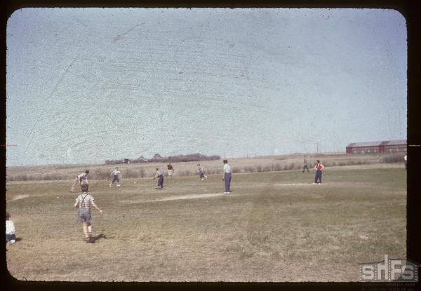 Baseball - Aneroid school. Aneroid. 05/19/1955