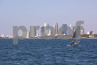 Pan Am Qualifiers for J24's Feb. '07- Windsurfer & Tampa Skyline
