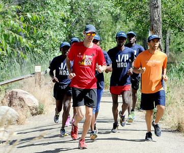 Haiti Runners Train in Boulder