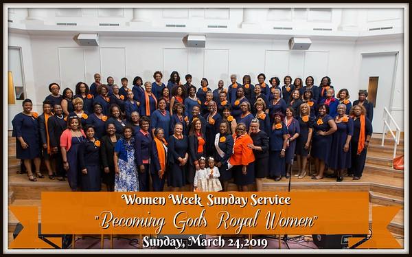 Women Week Service 2019