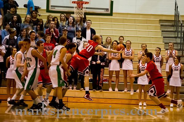 Basketball SHS vs Provo 1-20-2012