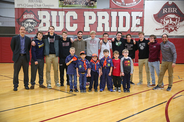 RBR Boys Basketball Senior Night 2019
