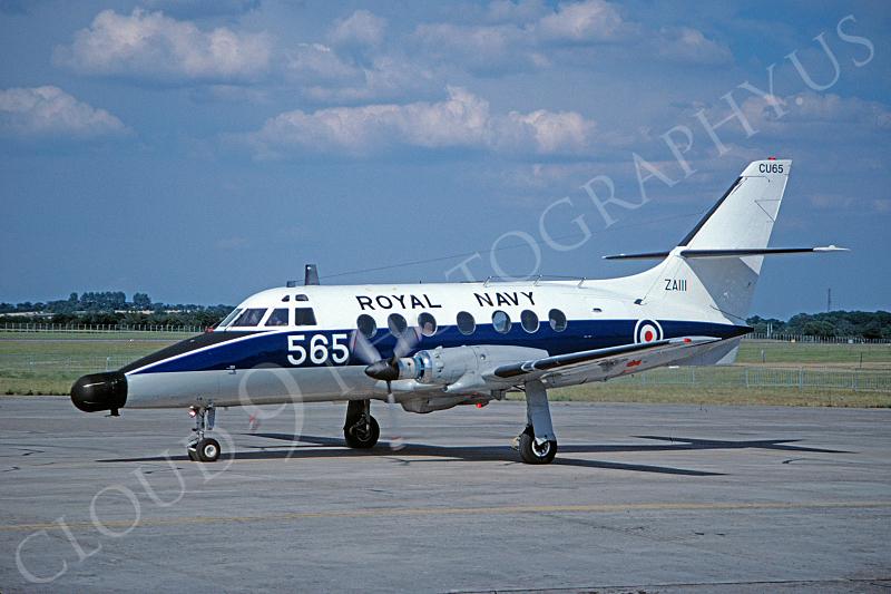BAE Jet Stream 00005 BAE Jet Stream British Royal Navy ZA111 by Clive Moggoridge .JPG