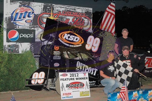 Badger Micro Sprints - June 24, 2012