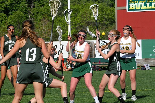 2015 BBA Varsity Girls Lacrosse vs Woodstock photos by Gary Baker