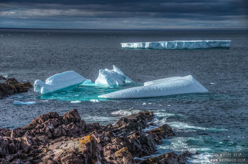 Icebergs 70    Photography by Wayne Heim
