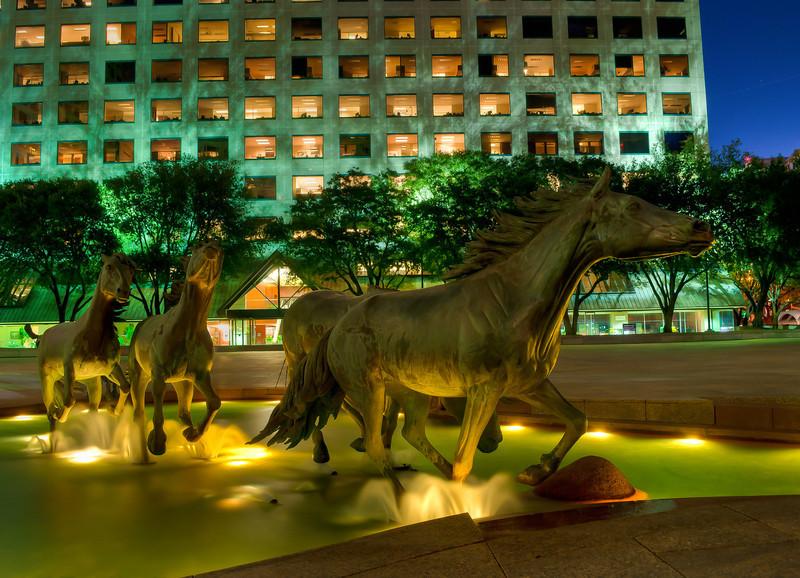 The Mustangs at Las Colinas