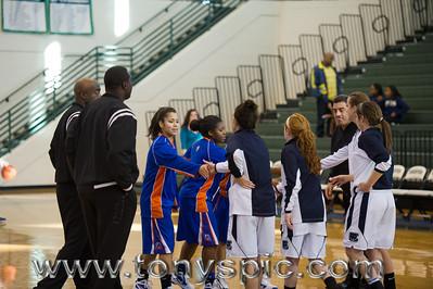 Lady Bruins Vs Creekview 7 Jan 2012