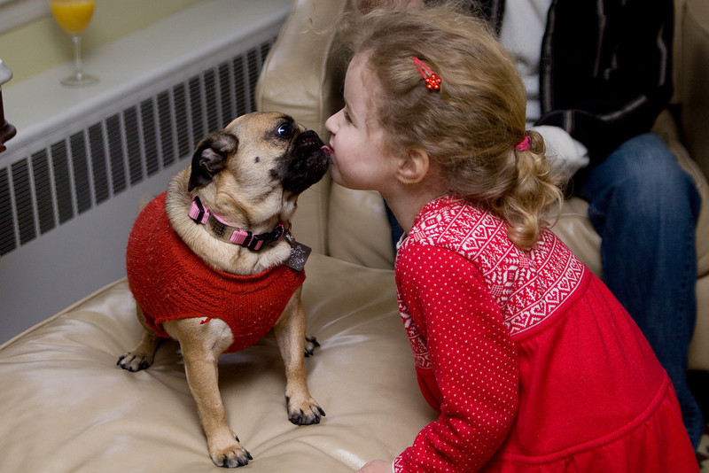 Christmas kisses from Sookie