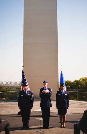 KERRIE BERNER | AIR FORCE CEREMONY | 10.5.2012
