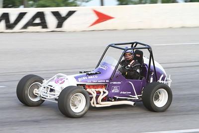 USAC Sprint Cars & Midgets, Toledo Speedway, Toledo, OH, July 1, 2011