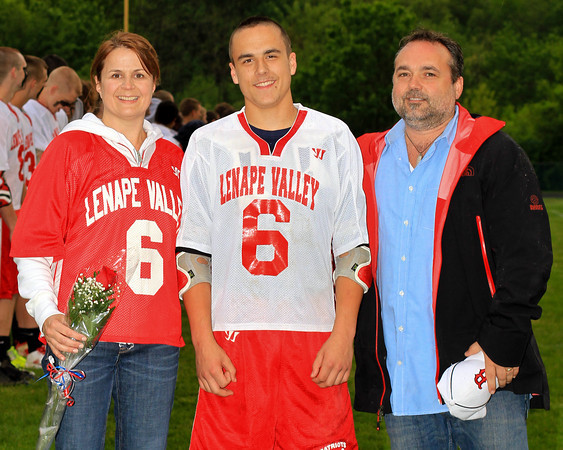 2012 Lenape Valley Lacrosse Senior Night