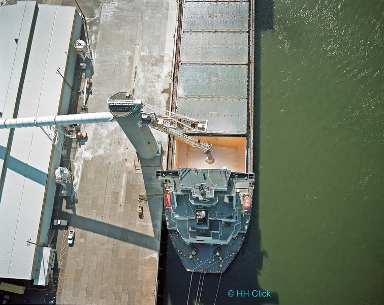 Drybulk cargo transfer, Port of Longview
