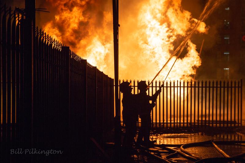 Sandy Row bonfire.  11th night &12th July.