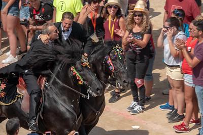 Festival de Sant Joan, Menorca