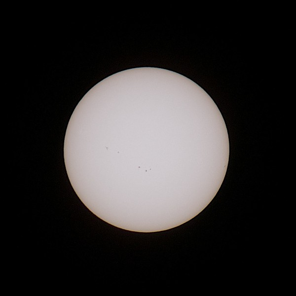 The Sun at 300mm