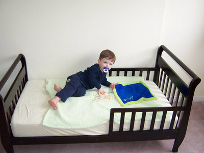 Evan's Big Boy Bed