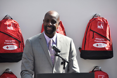 Ready Neighborhoods Disaster Prep Event ft. Jerry Rice 3.2.2012